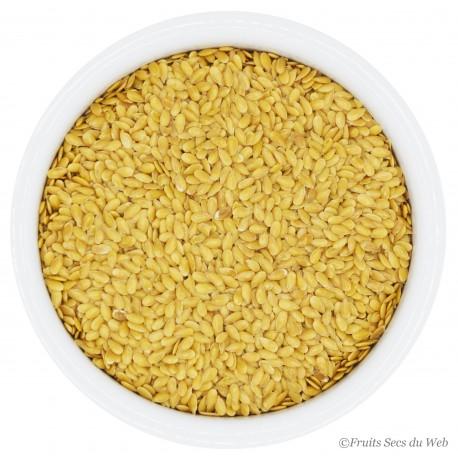 Graine de Lin Doré Bio